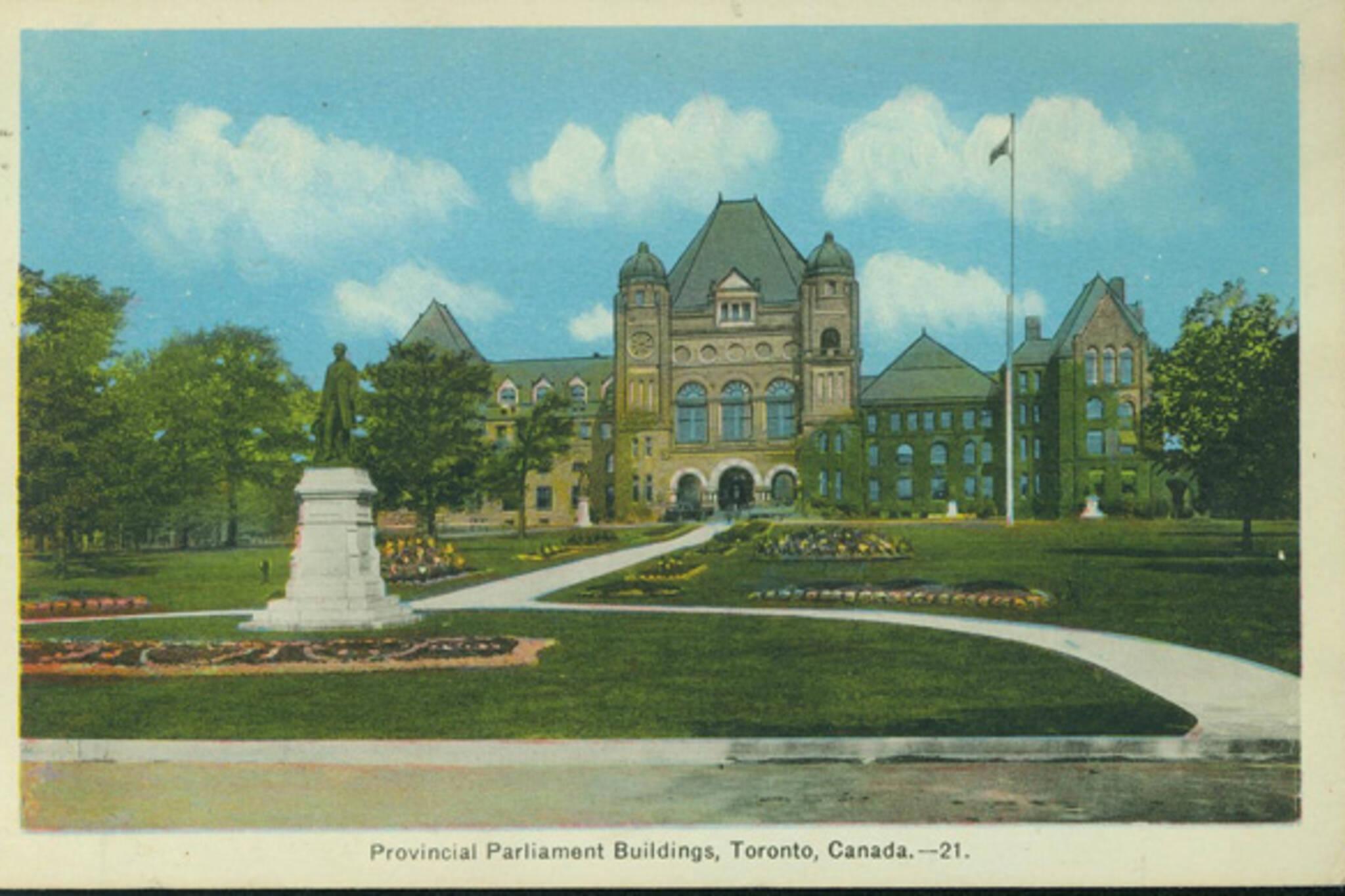 Queen's Park Postcard