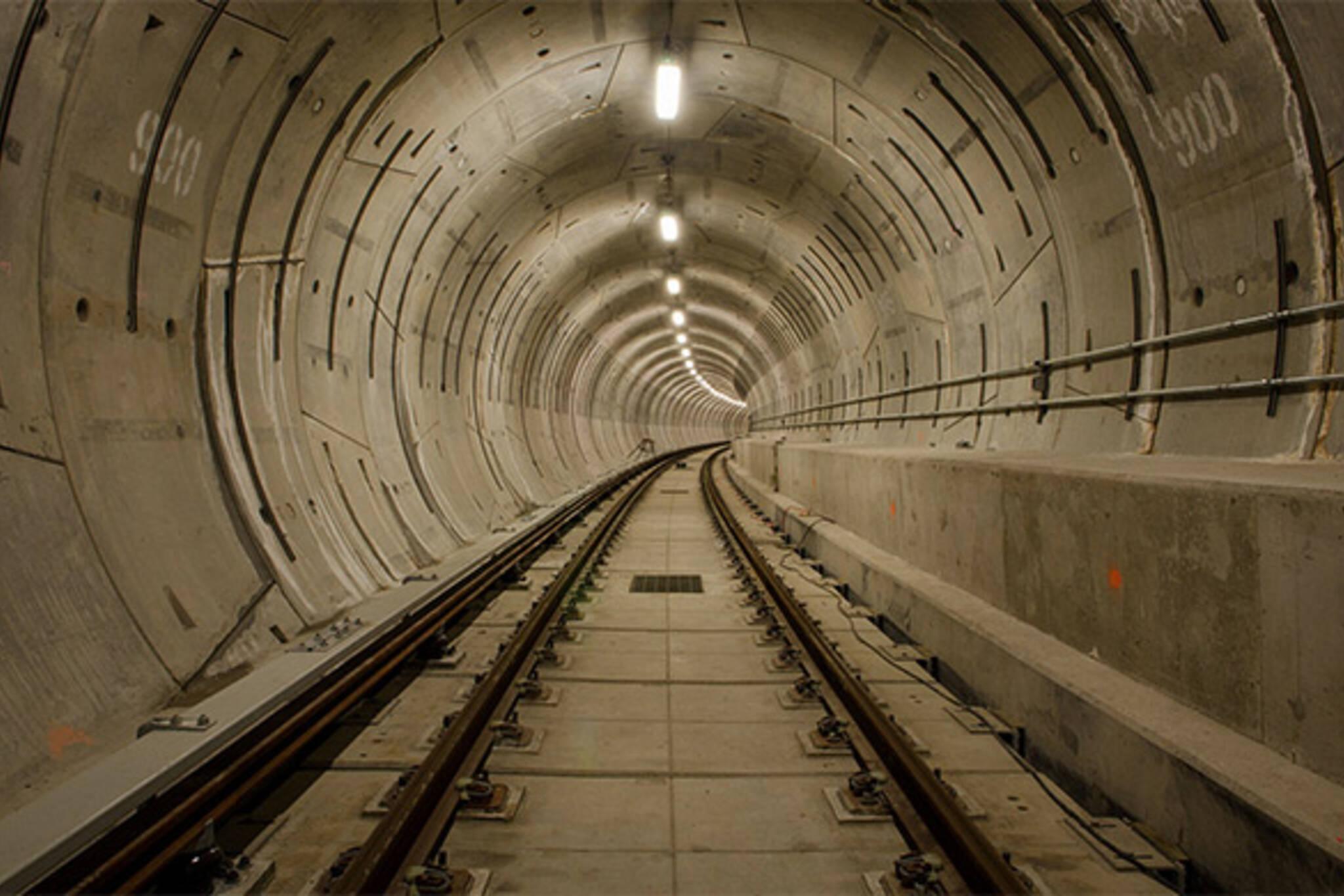 TTC tunnel