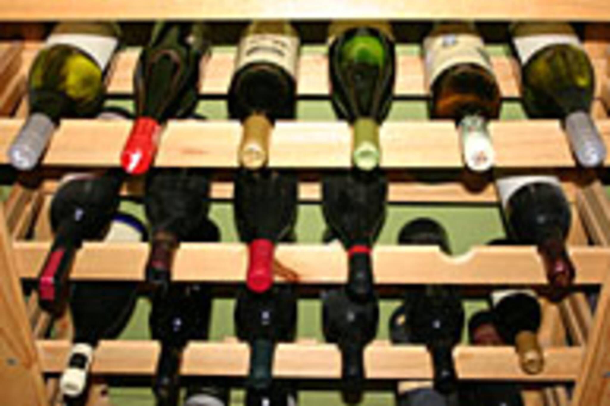 Ahhh, the joys of a well stocked cellar