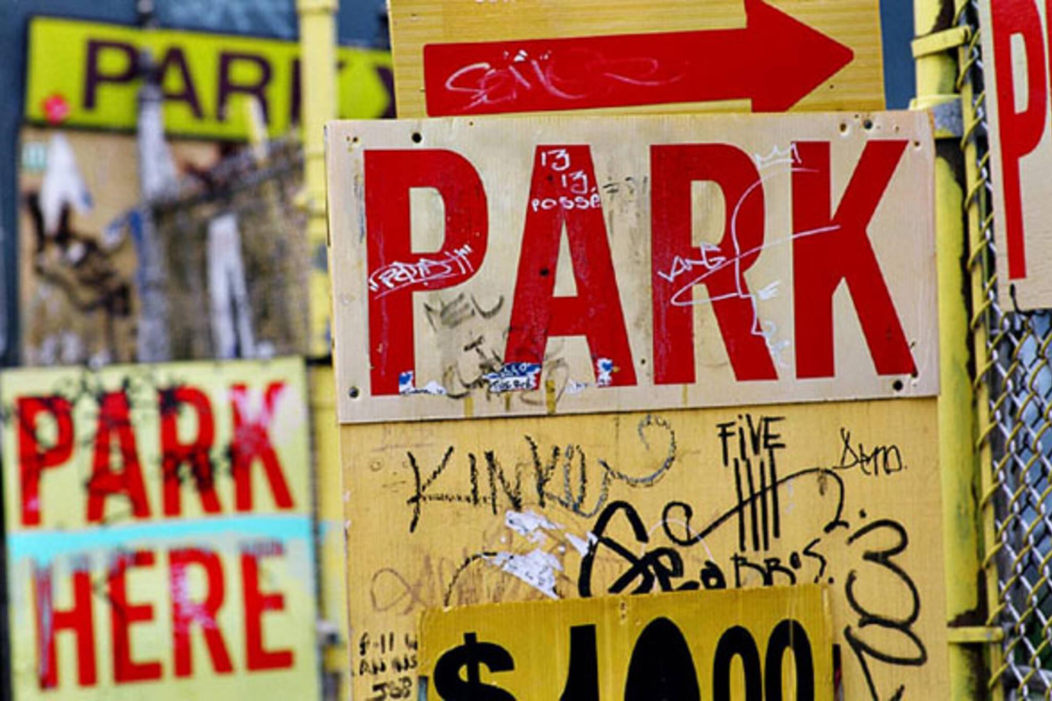 blogTO Morning Brew Parking Signs