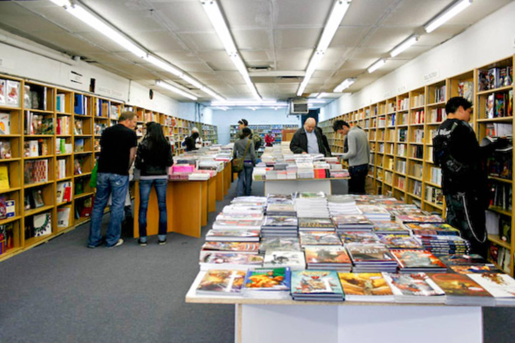 Bookstore Queen West Toronto