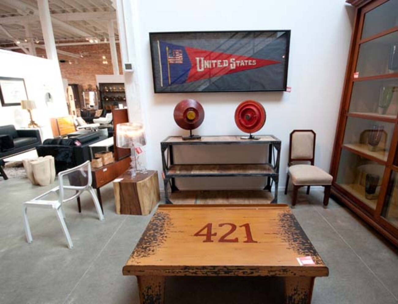 After Liquidation High End Furniture Store Resurfaces In