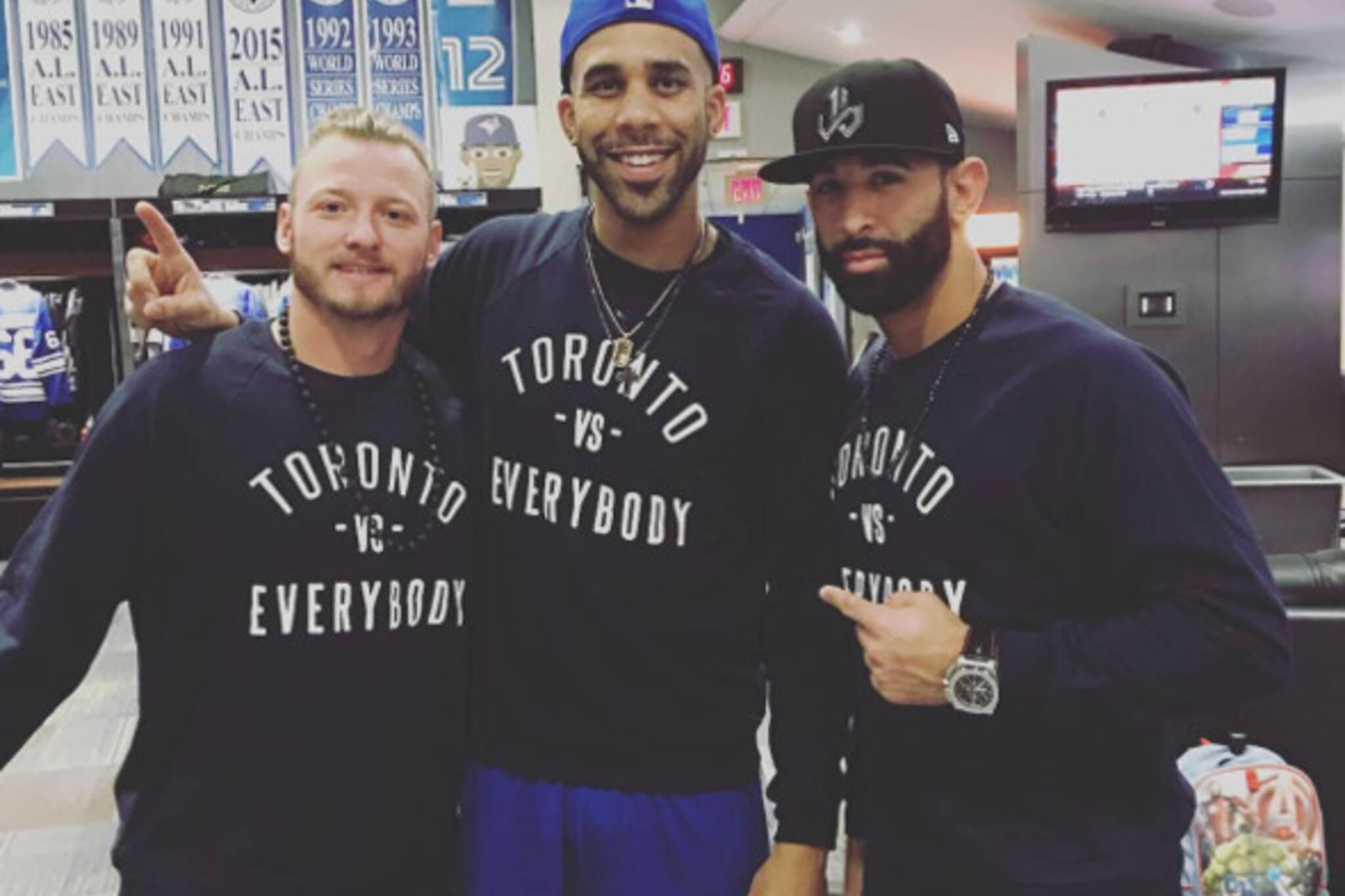 Jose Bautista Toronto Shirt