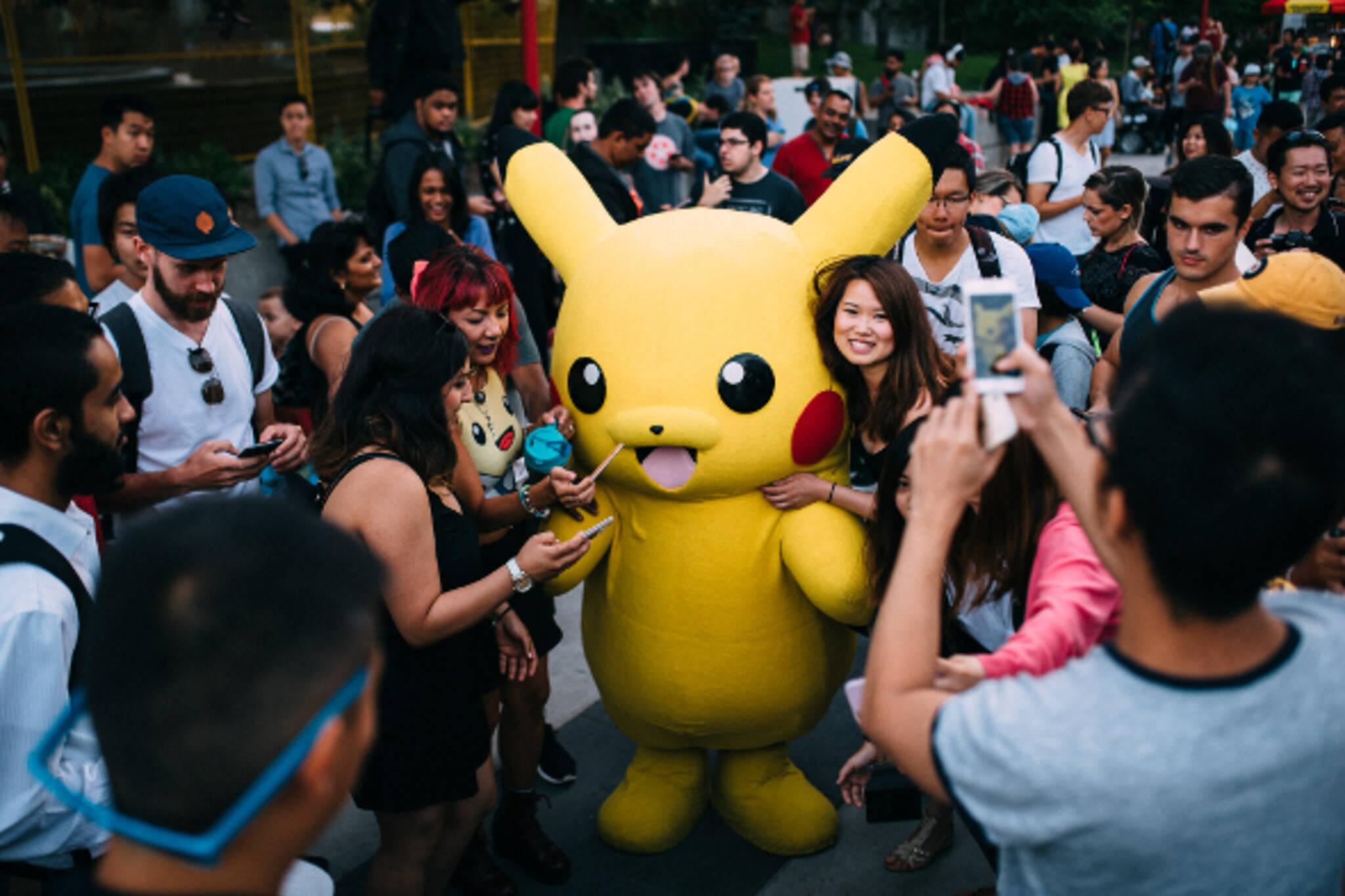 Pokemon Go Toronto