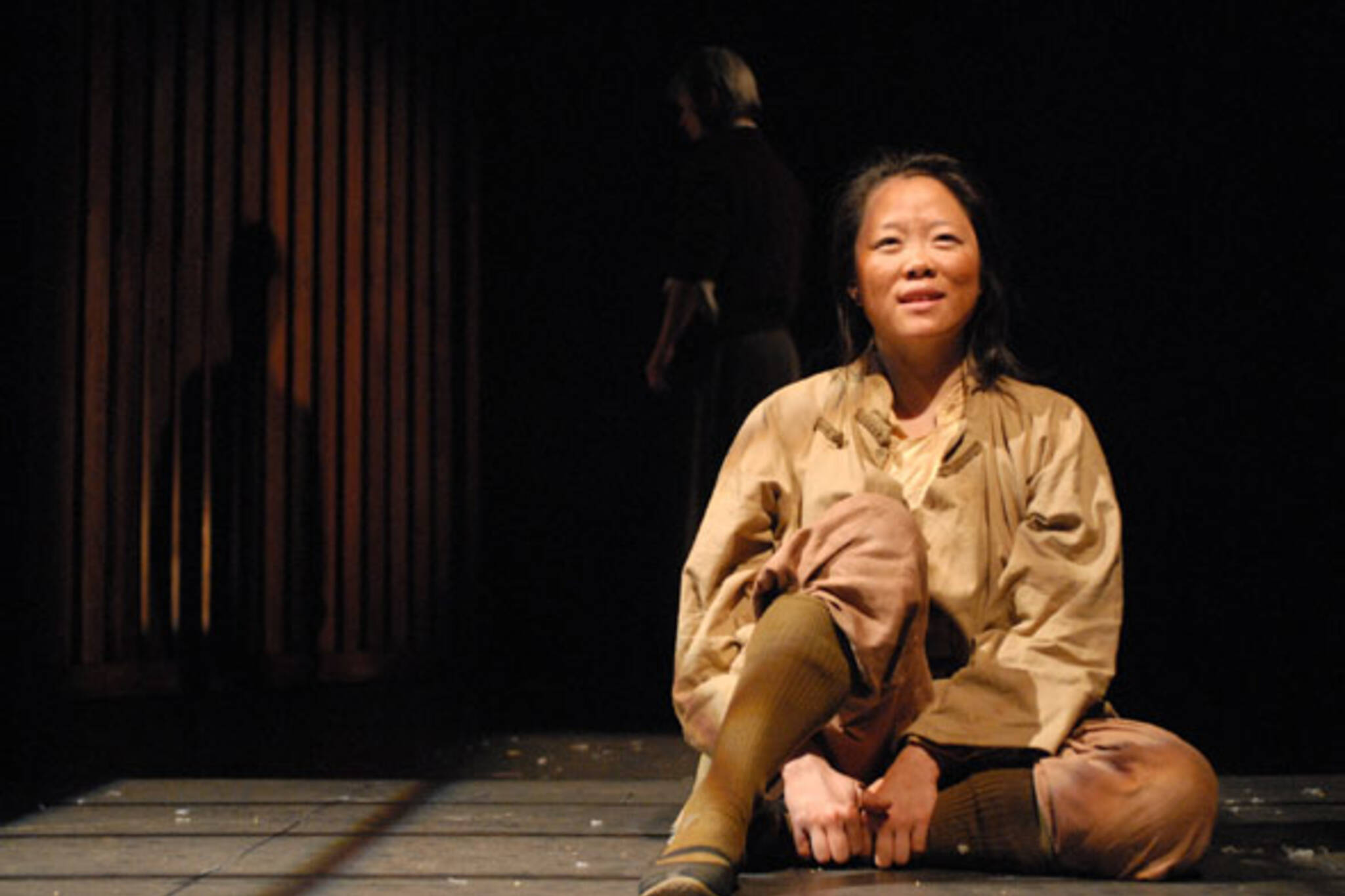Grace Lynn Kung in a nanking winter