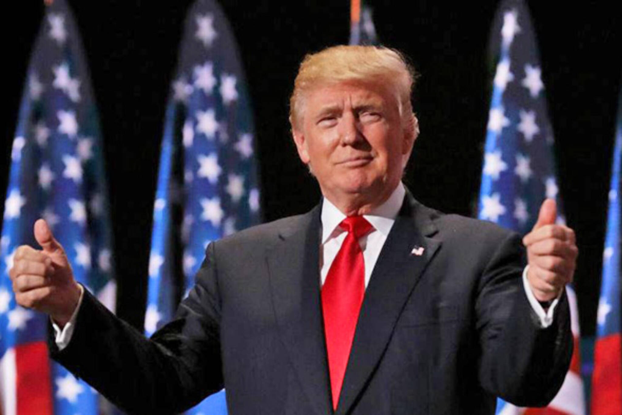 trump rally toronto