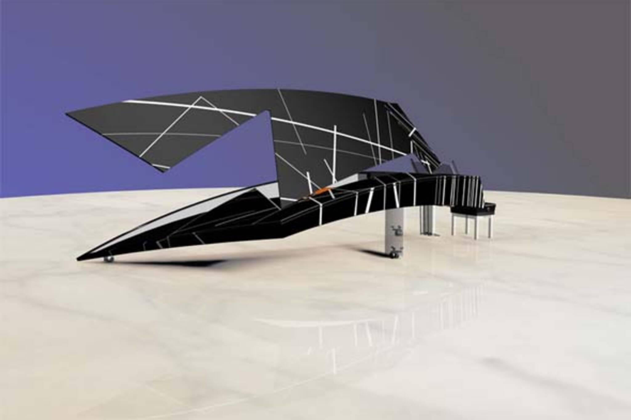 Daniel Libeskind Piano Design