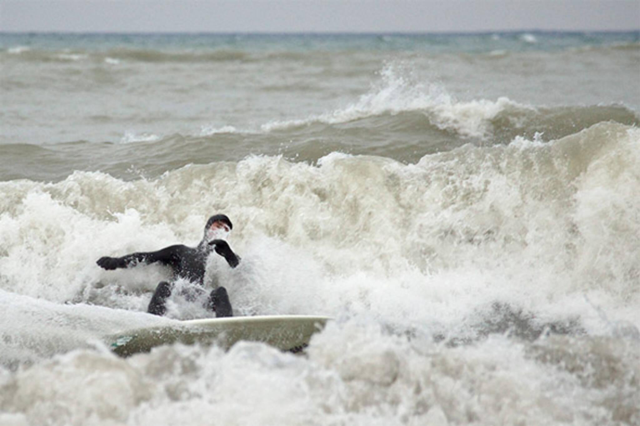winter surfing toronto