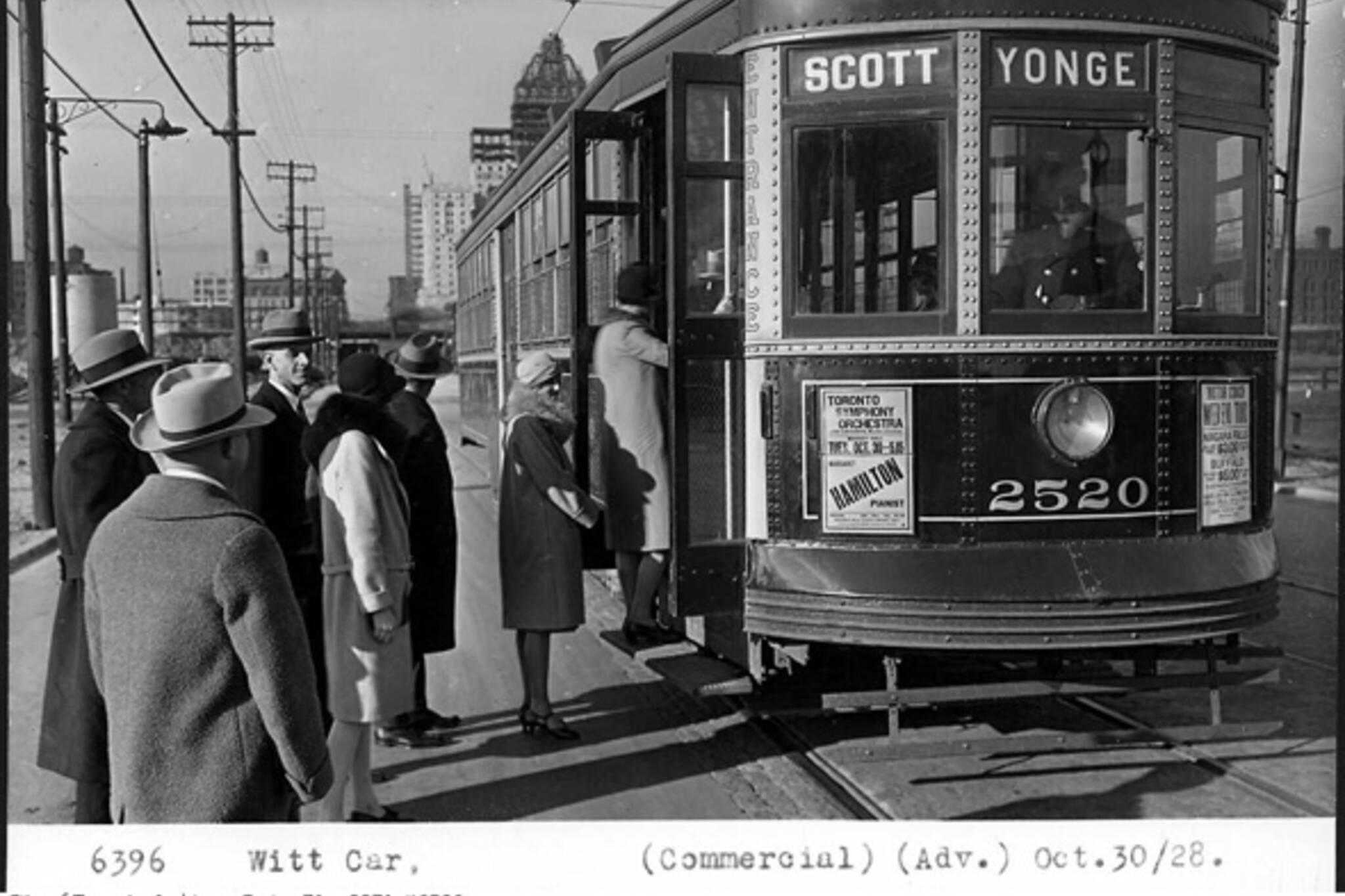 TTC LRT Streetcar