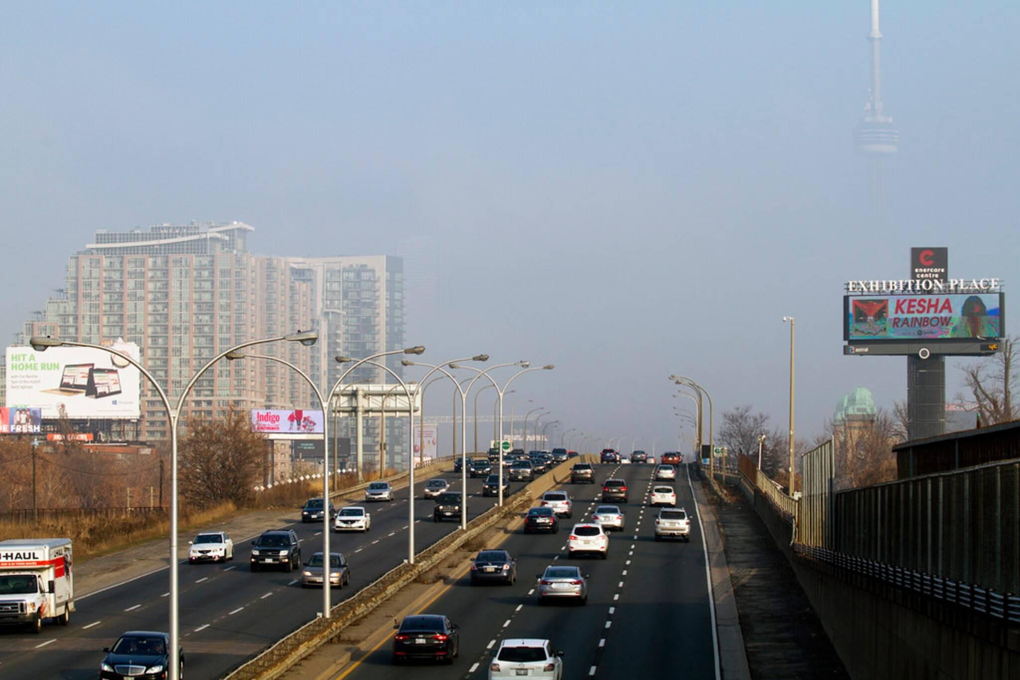 gardiner expressway closure