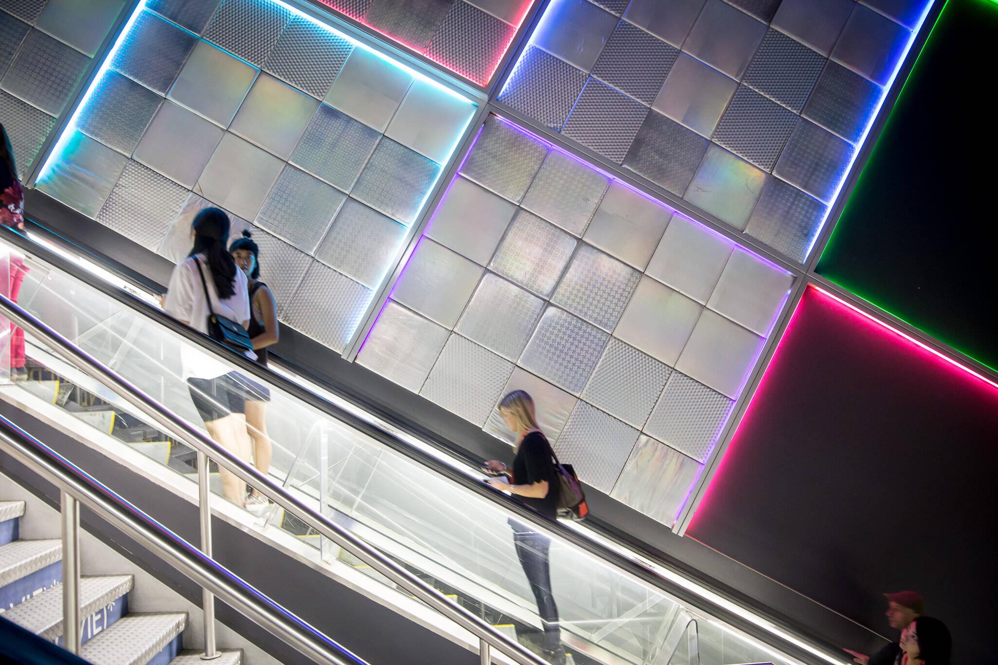 scotiabank theatre escalators