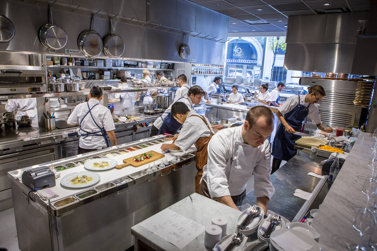 Italian Restaurants Near One King West
