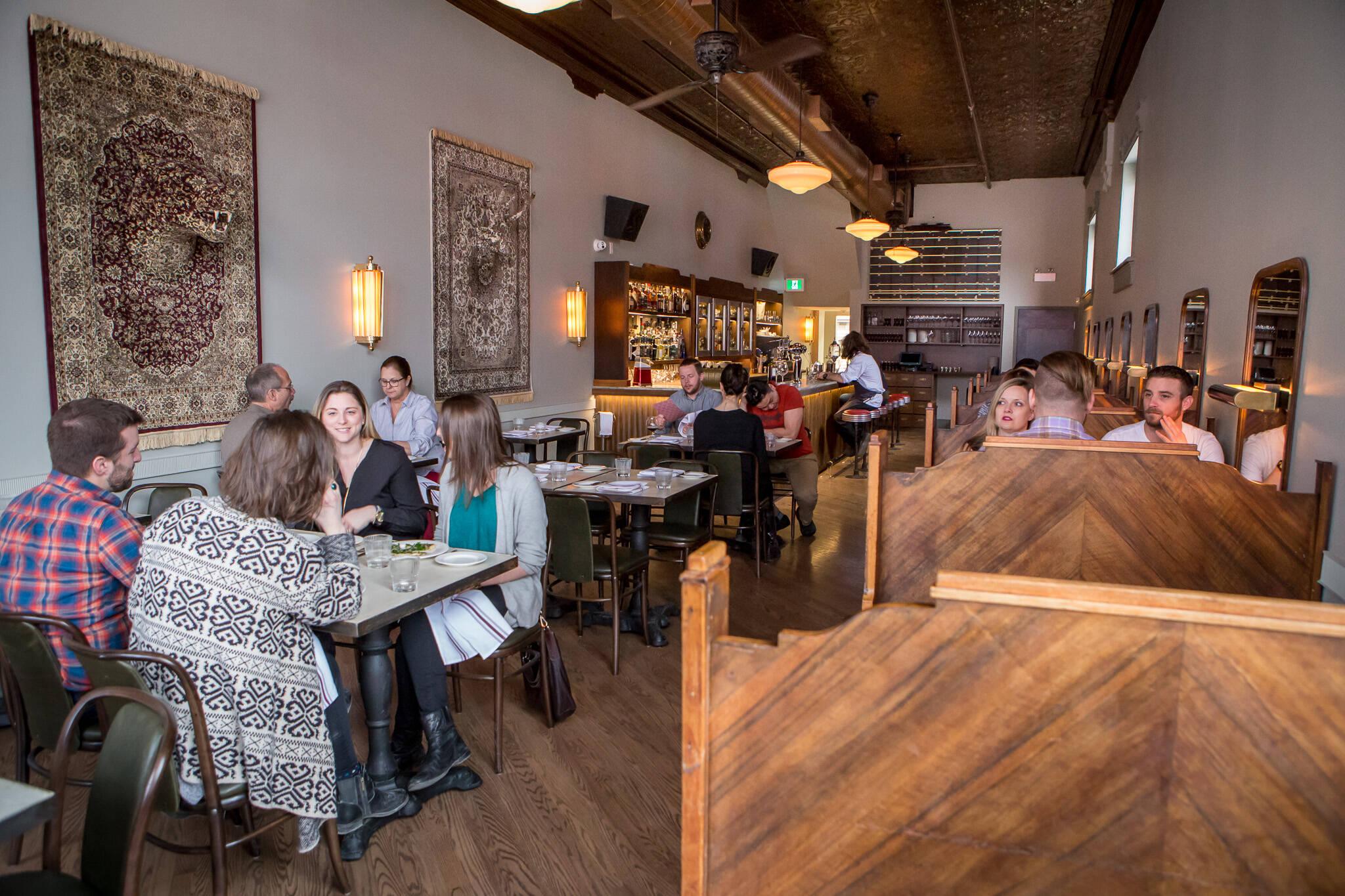 indoor dining ontario