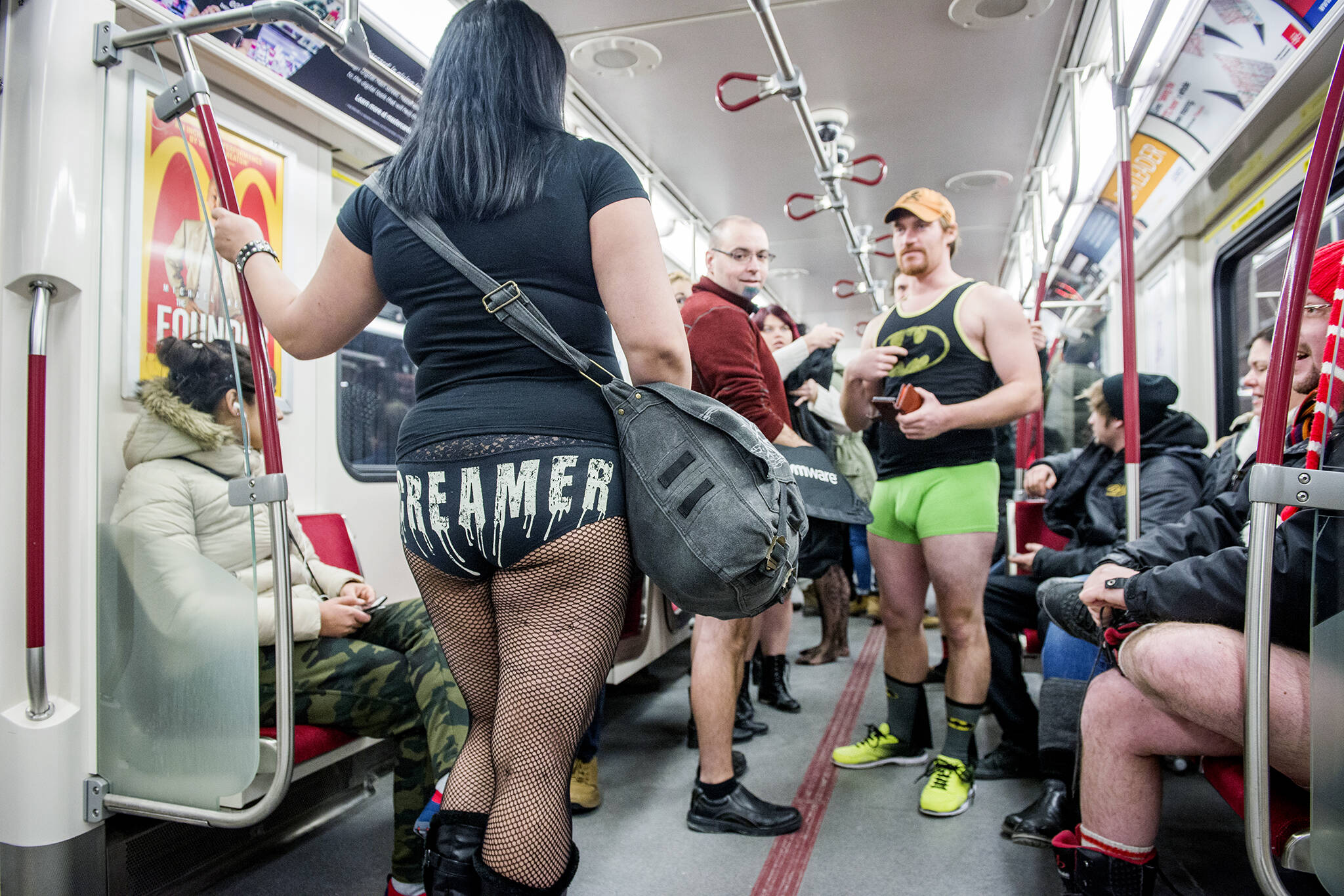 no pants subway ride toronto