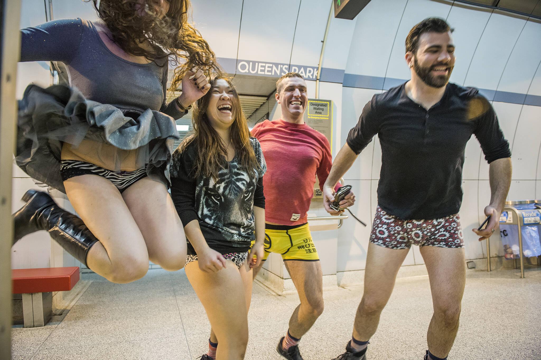 no pants subway ride toronto