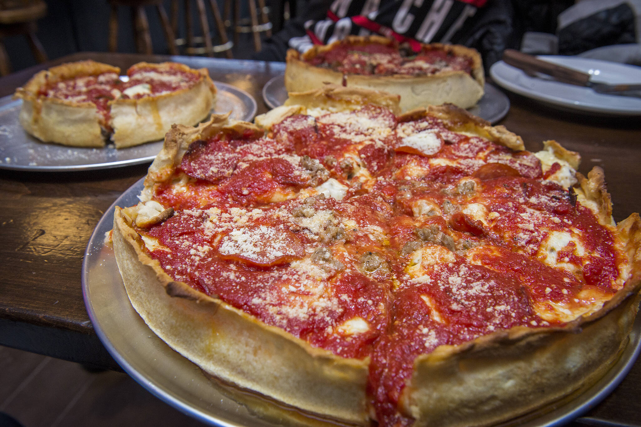 Deep Dish Pizza Toronto