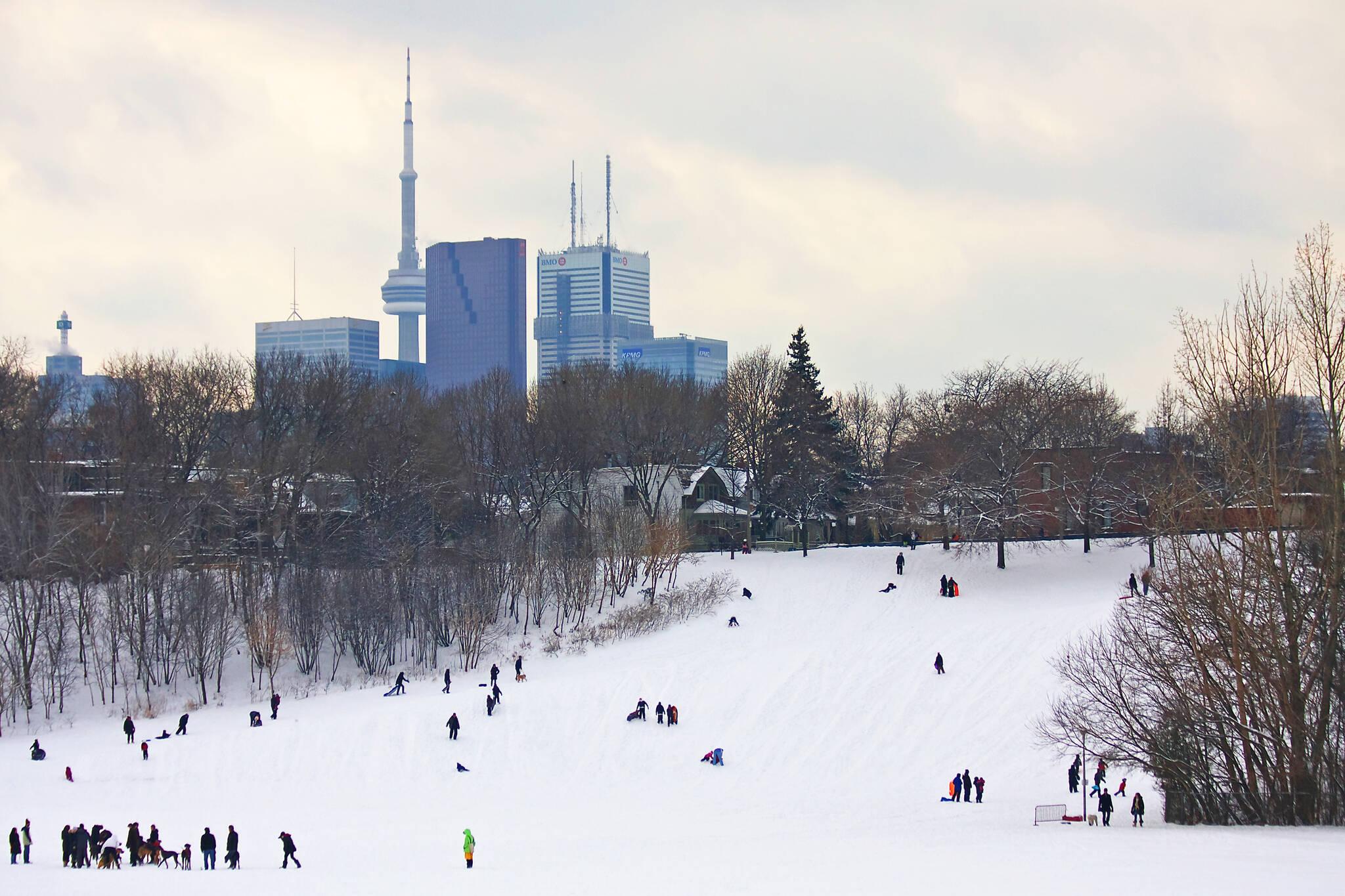 toboggan hills Toronto