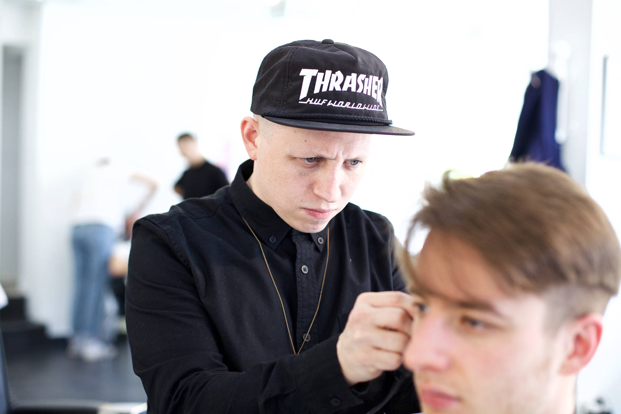 toronto glassbox barbershop