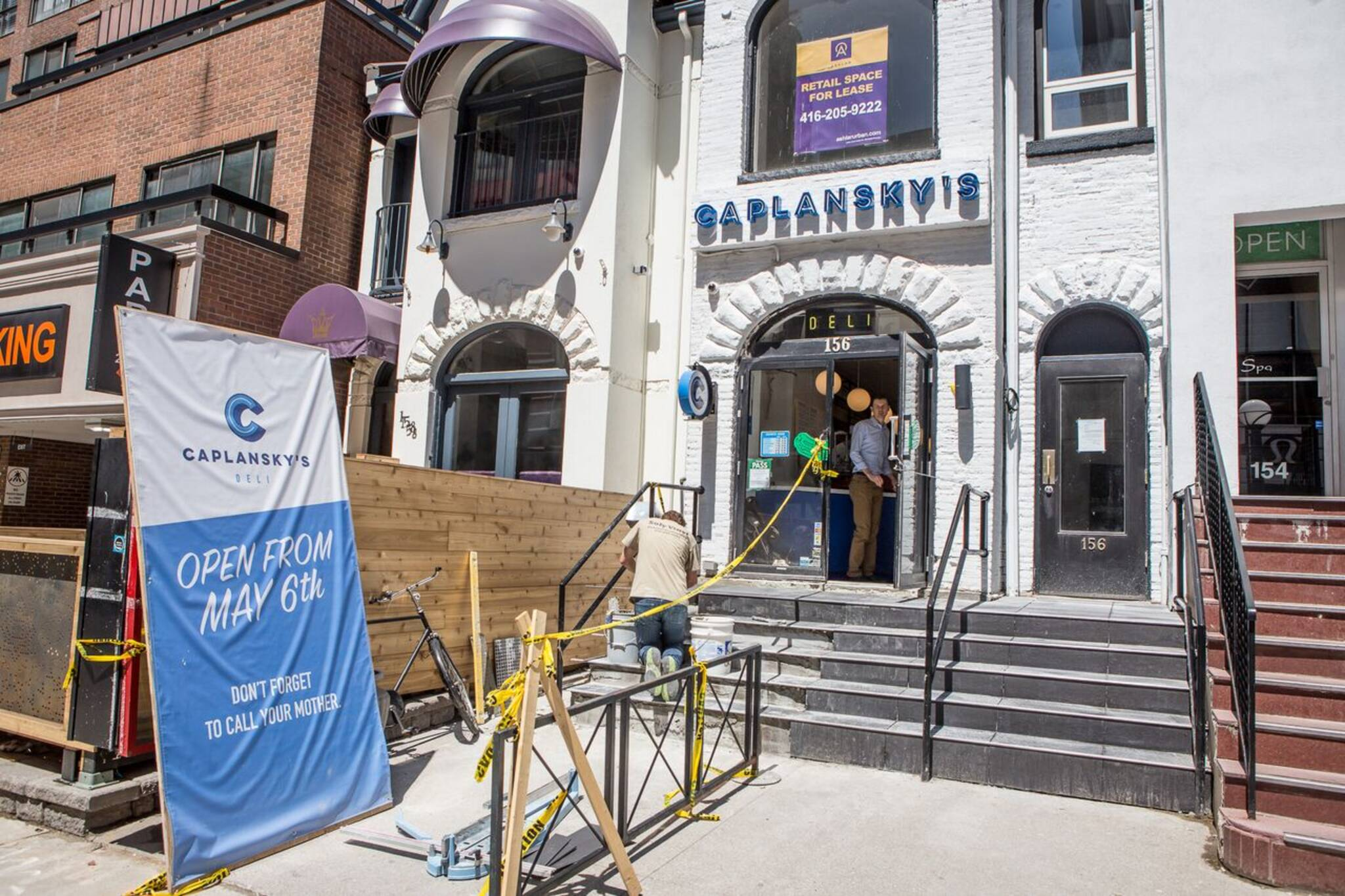 Caplansky's Yorkville closing