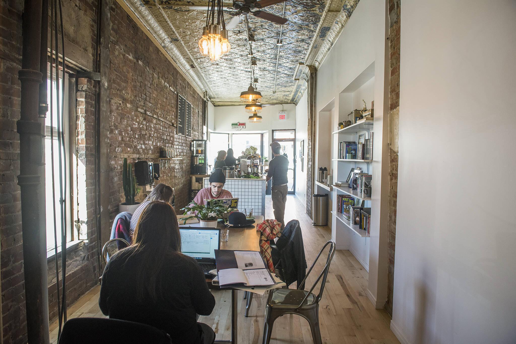 cafes toronto wifi