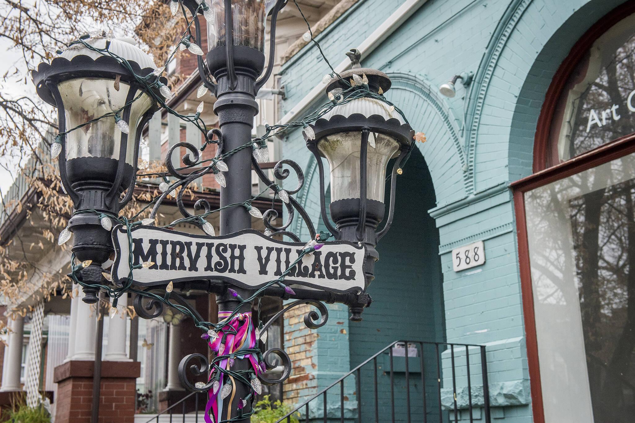 new years mirvish village toronto