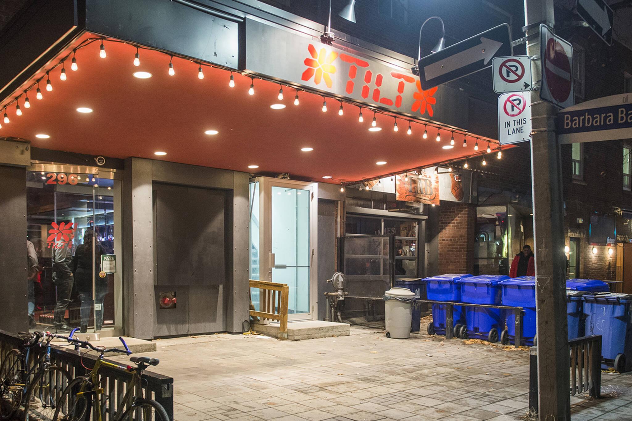 tilt arcade bar closing toronto