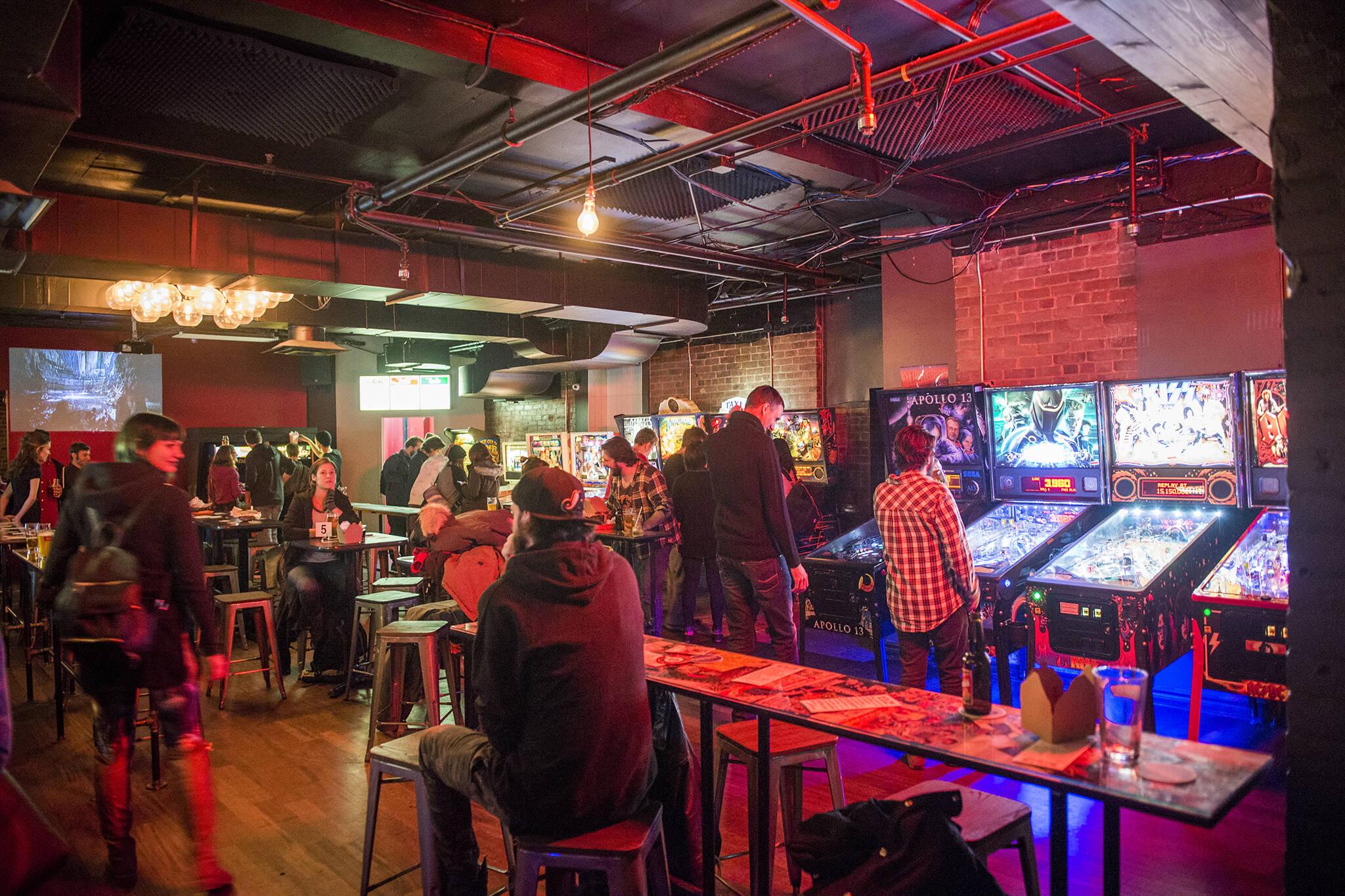 restaurants video games toronto
