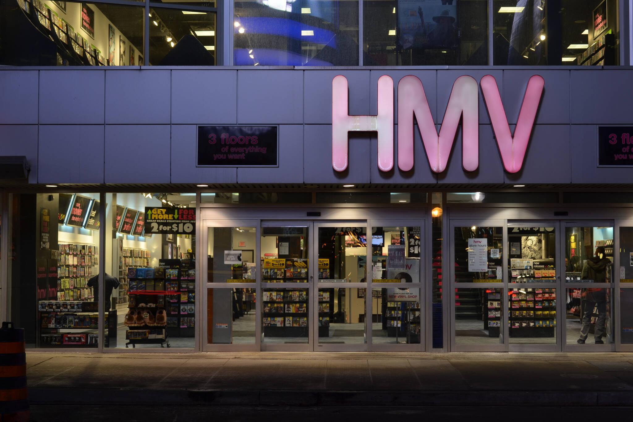 HMV toronto