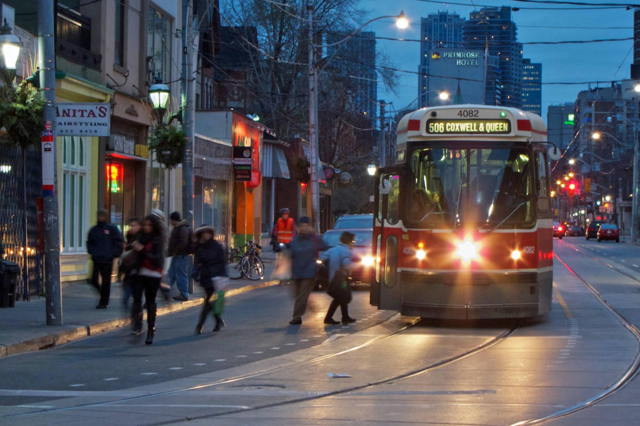 506 streetcar toronto