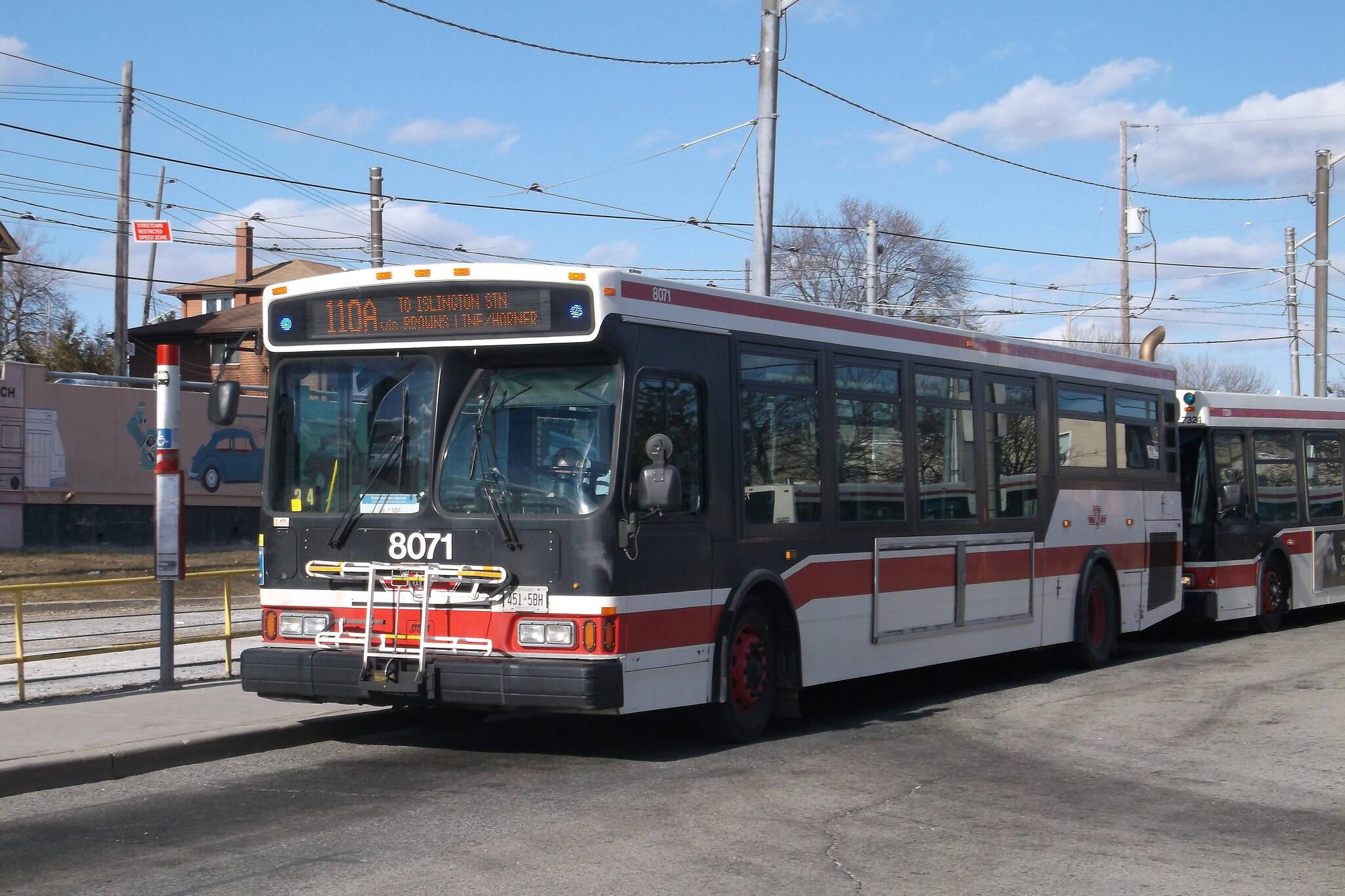 bus toronto