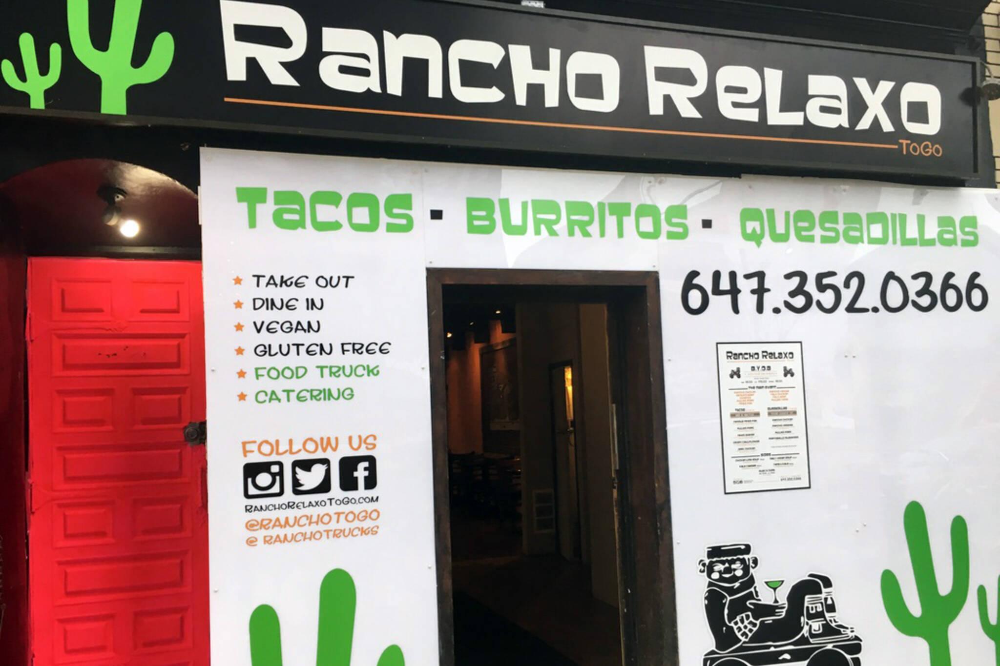 Rancho Relaxo Toronto