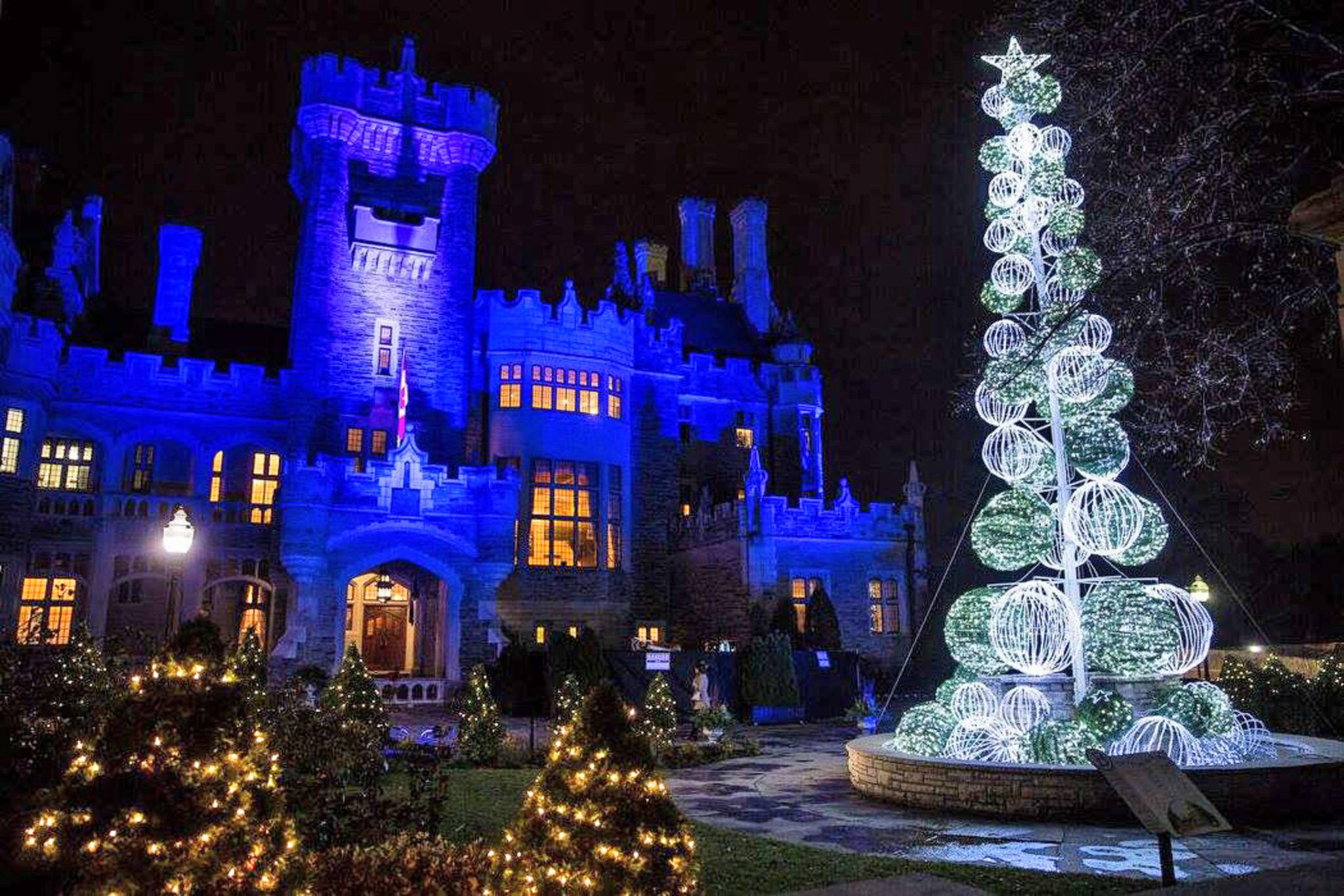 casa loma christmas lights