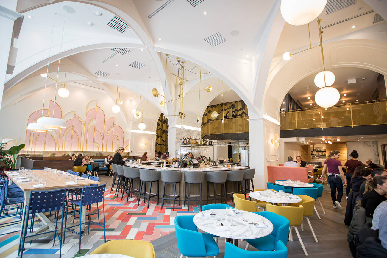 New restaurants with beautiful interior design in toronto