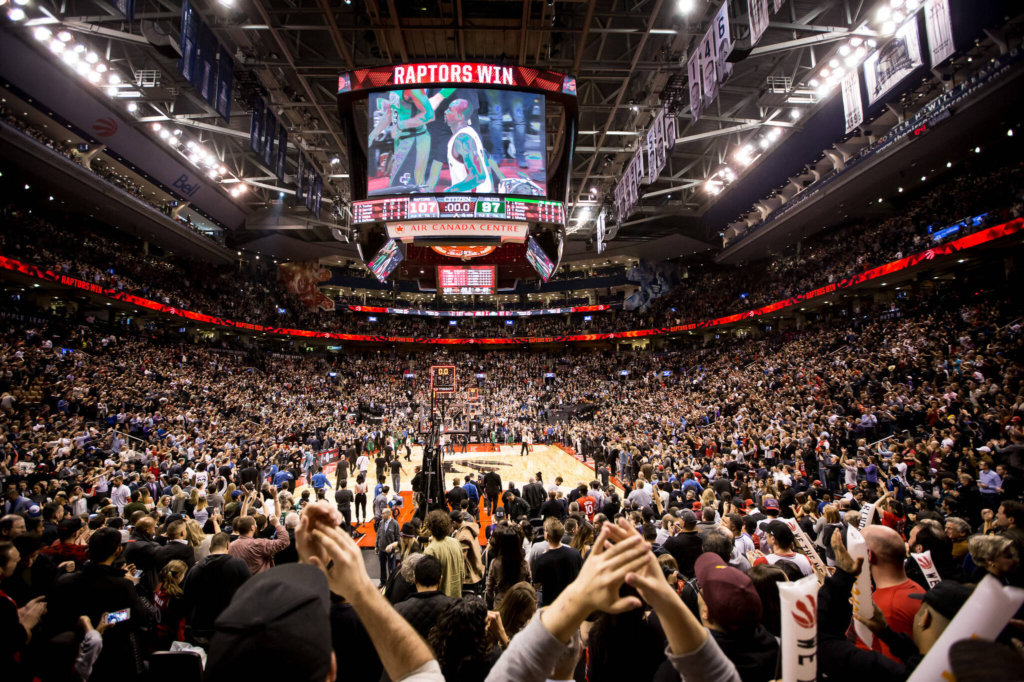 Toronto Raptors Home Arena