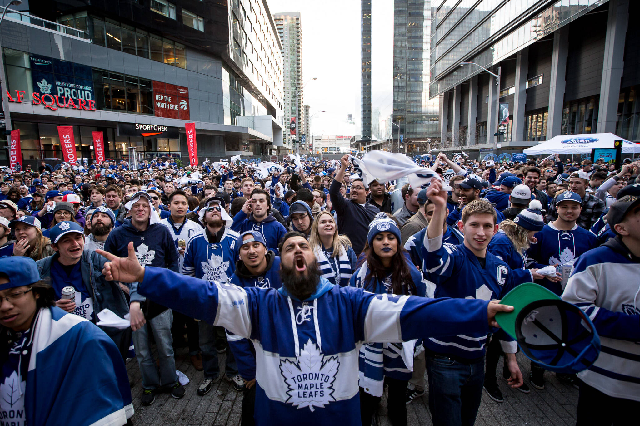 toronto maple leafs party