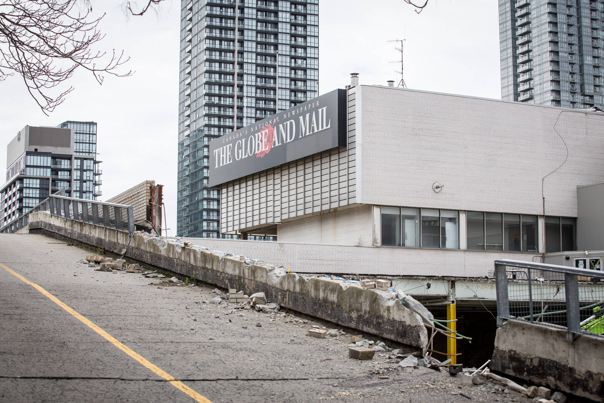 globe and mail demolition toronto
