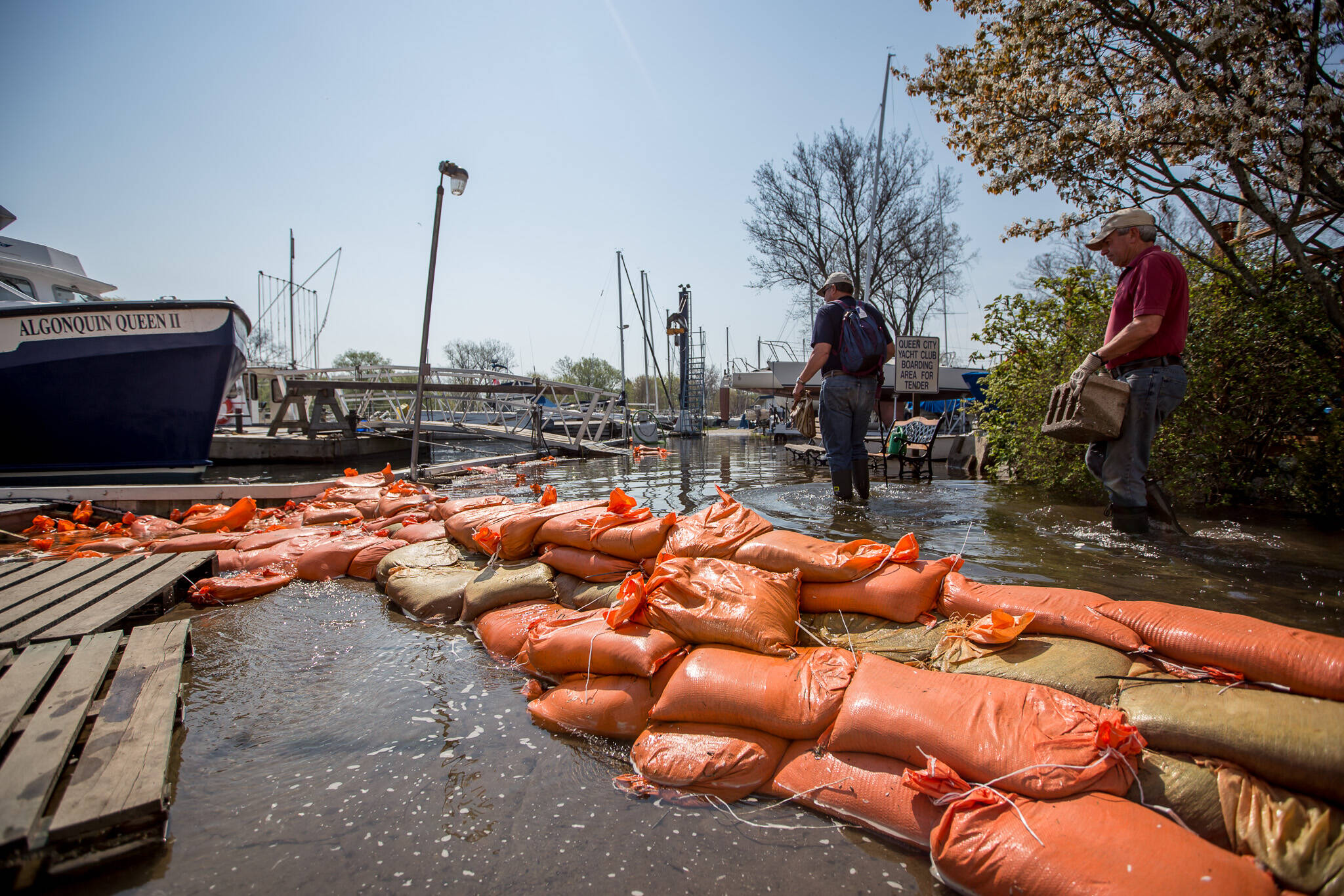 east end flooding