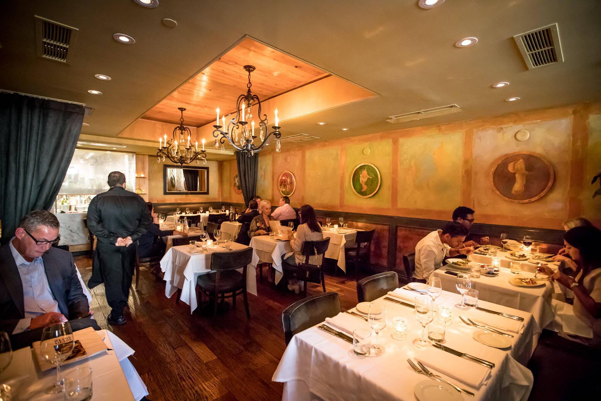 classy restaurants toronto