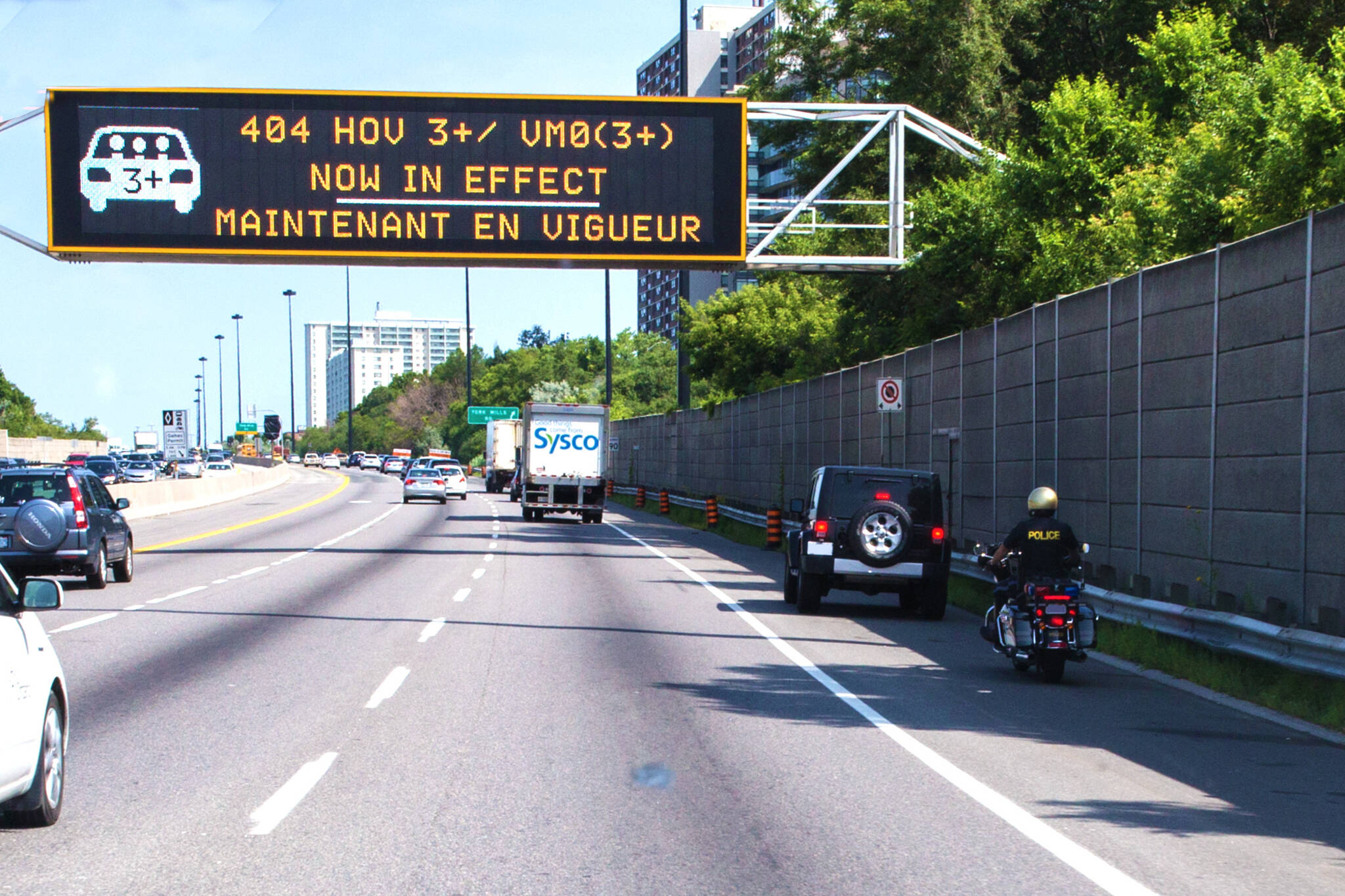 What Is Hov Lane >> Toronto To Use Drones To Check Passenger Numbers In Hov Lanes