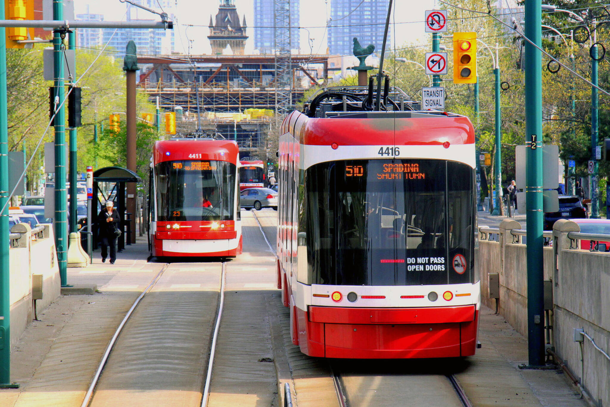 bombardier streetcar delay
