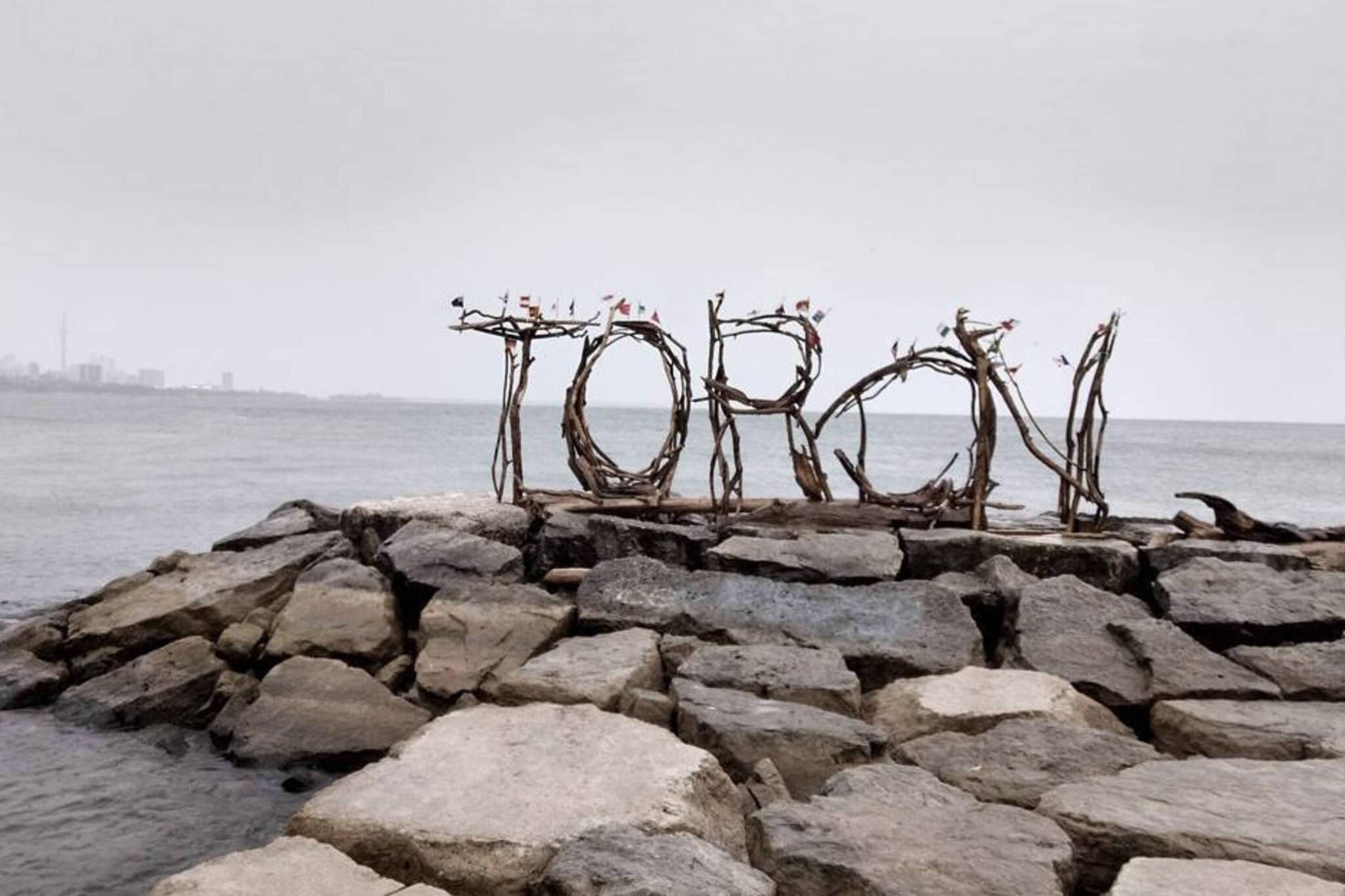 toronto wood sign
