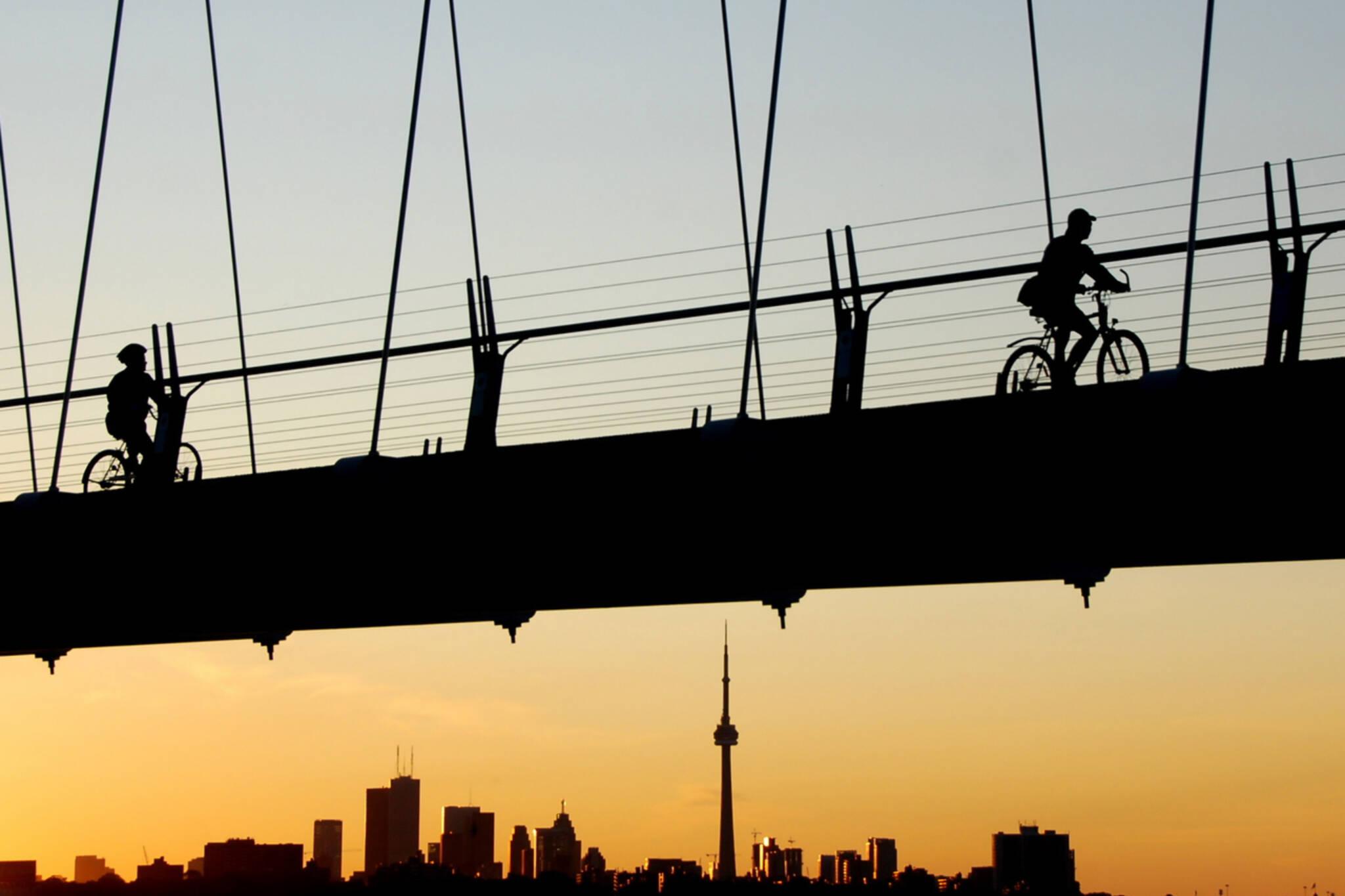 bike rides toronto
