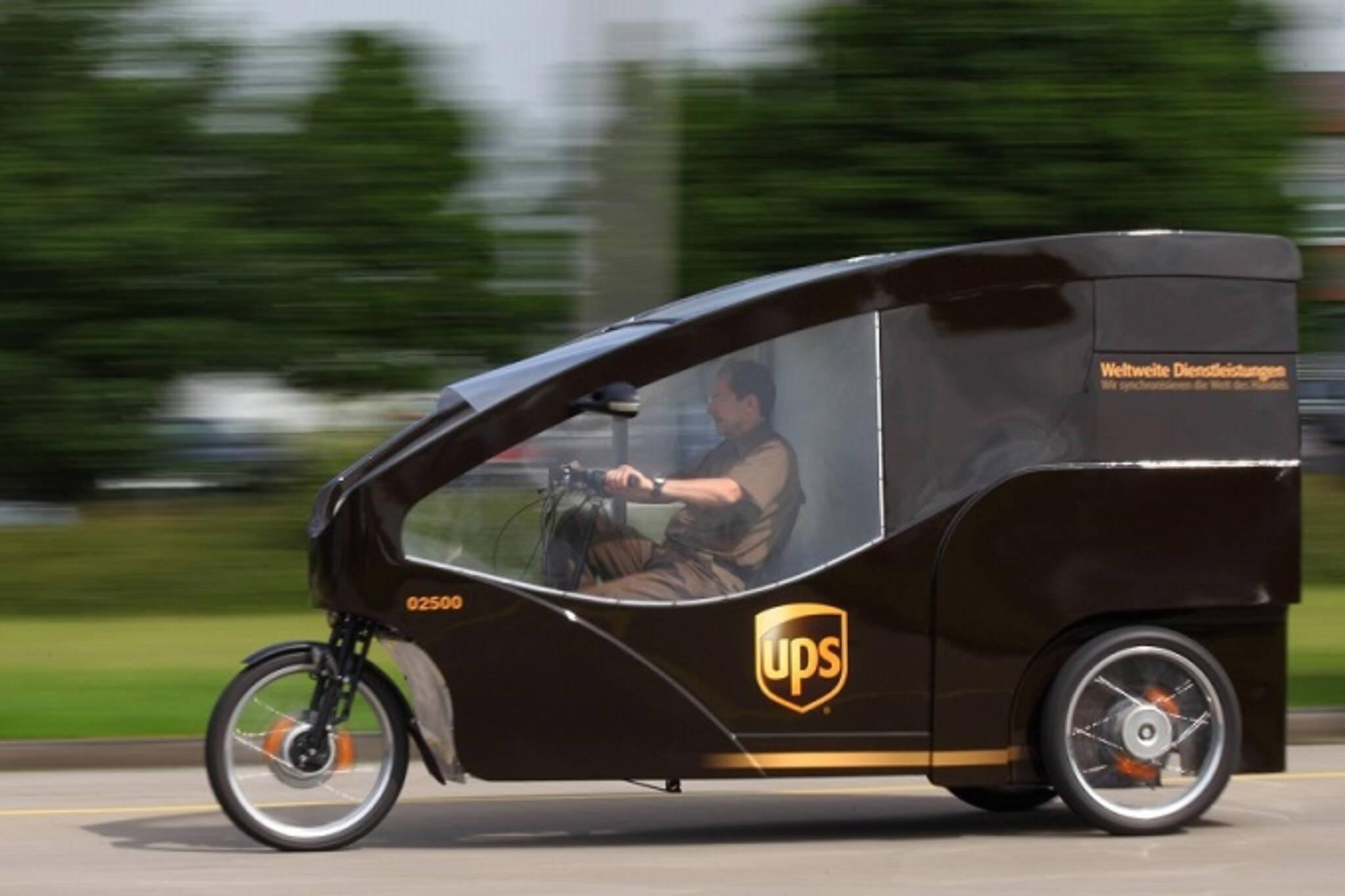 UPS bike toronto