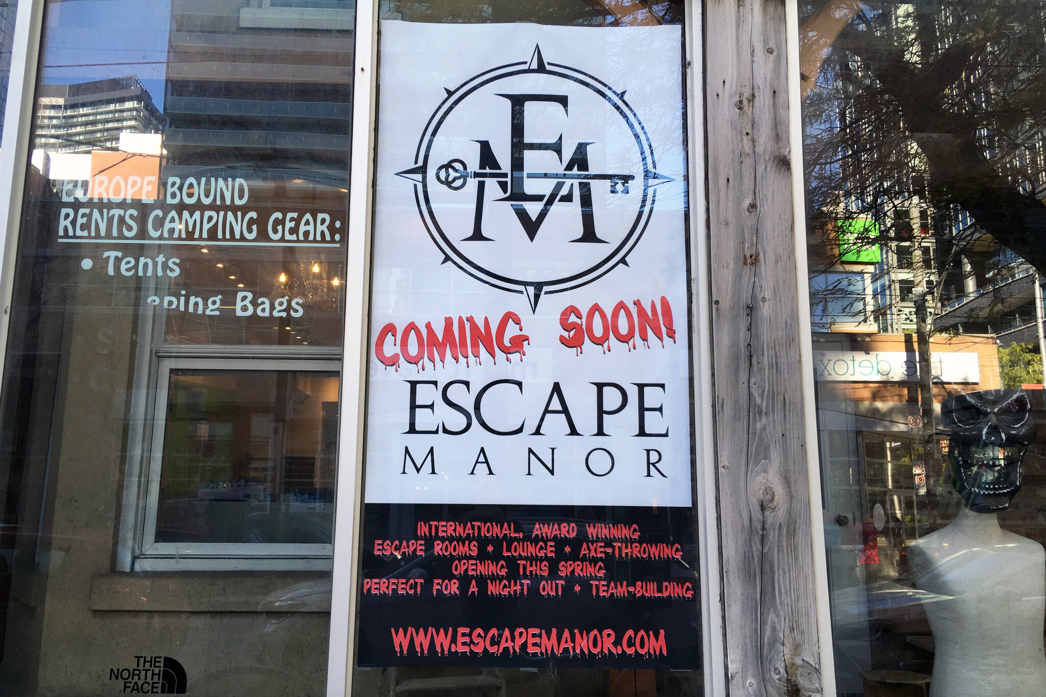 escape manor toronto