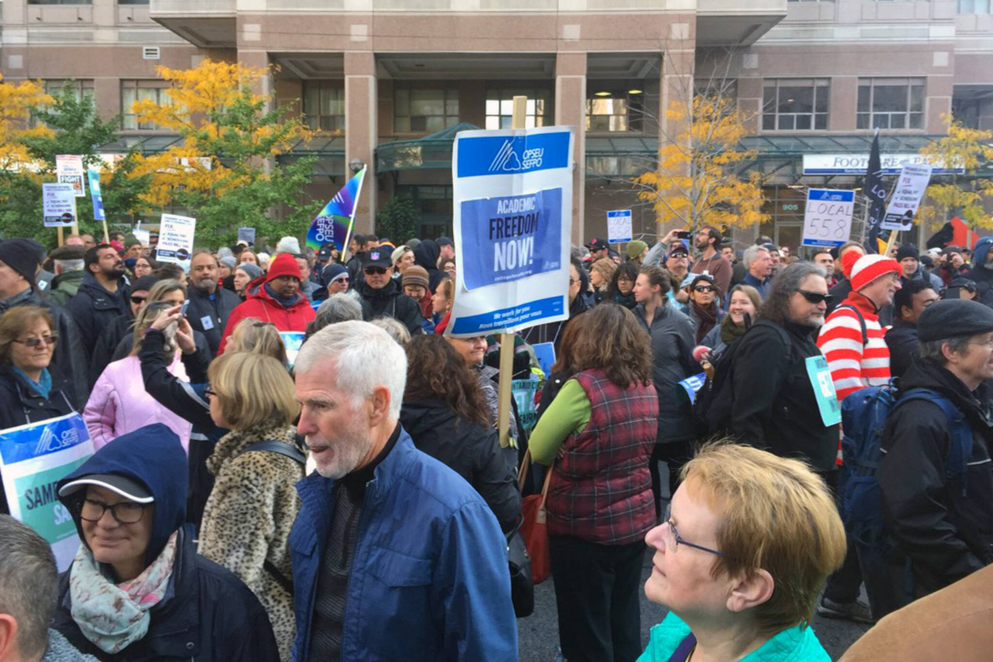 ontario faculty strike