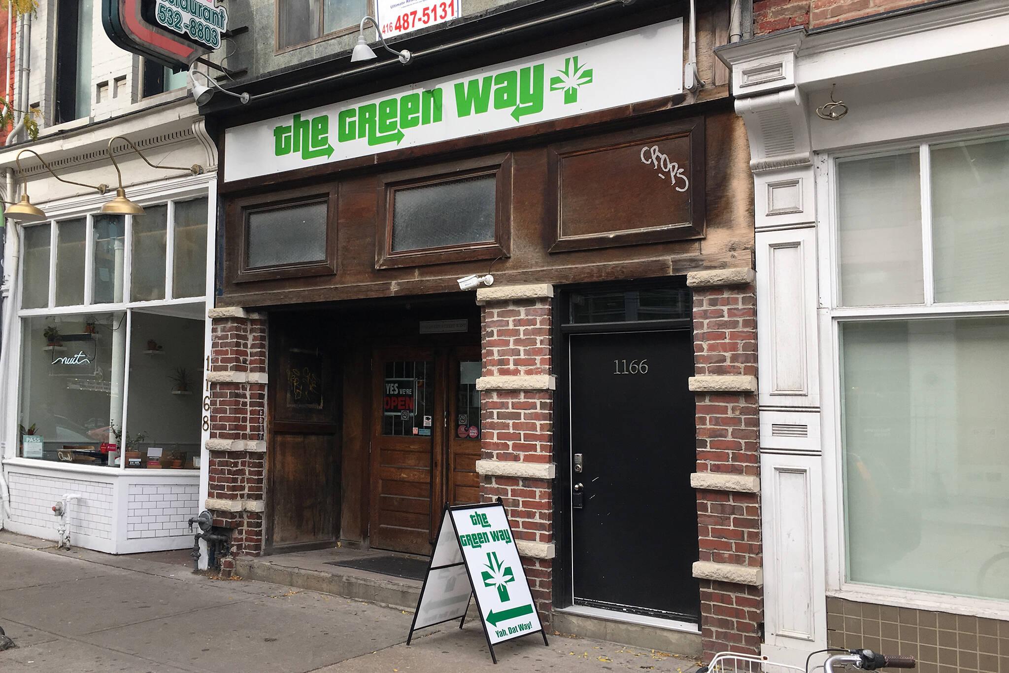 marijuana in Toronto