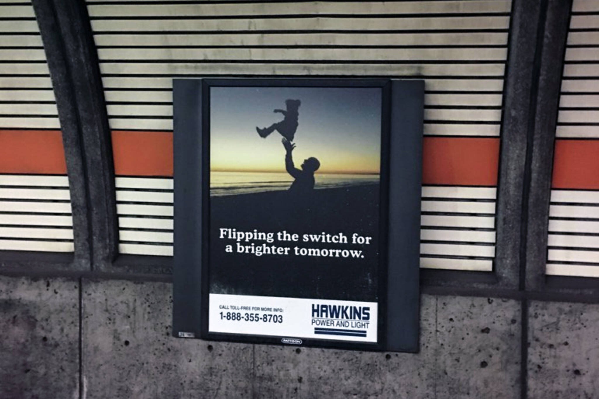 stranger things ads ttc