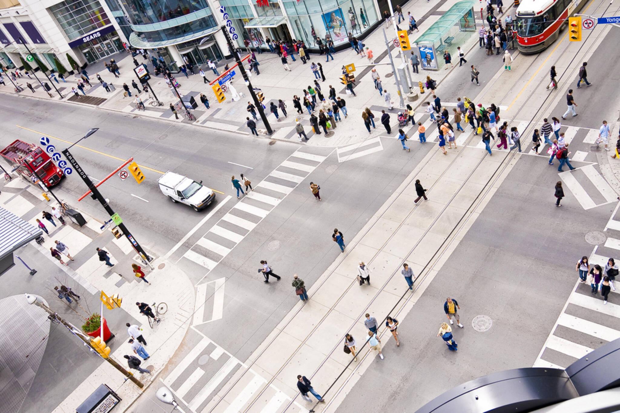 Distracted Walking Toronto