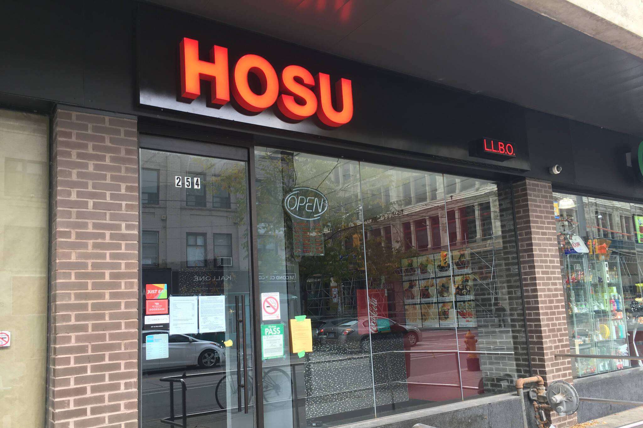 Hosu restaurant closed