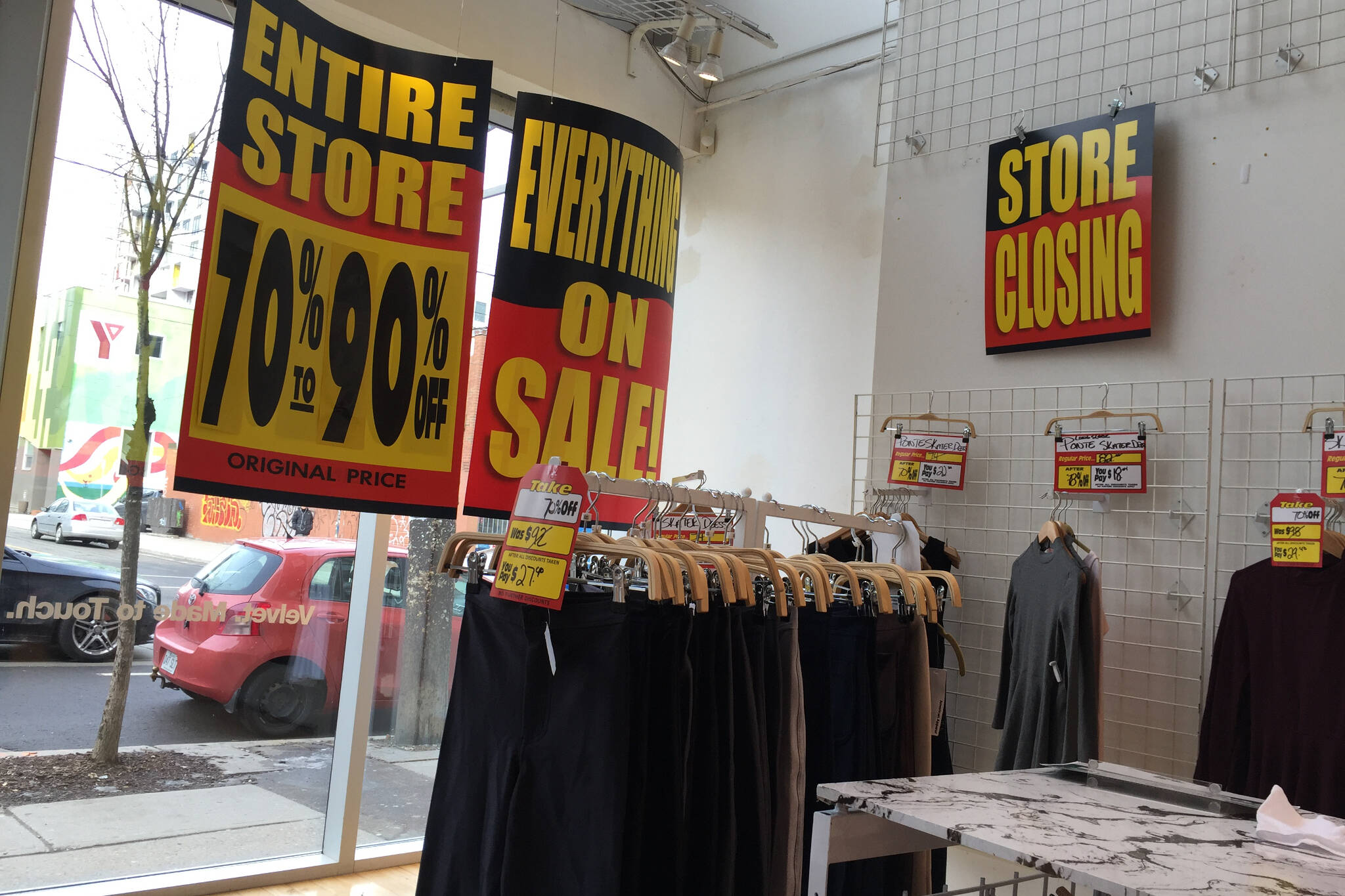 Us clothing stores